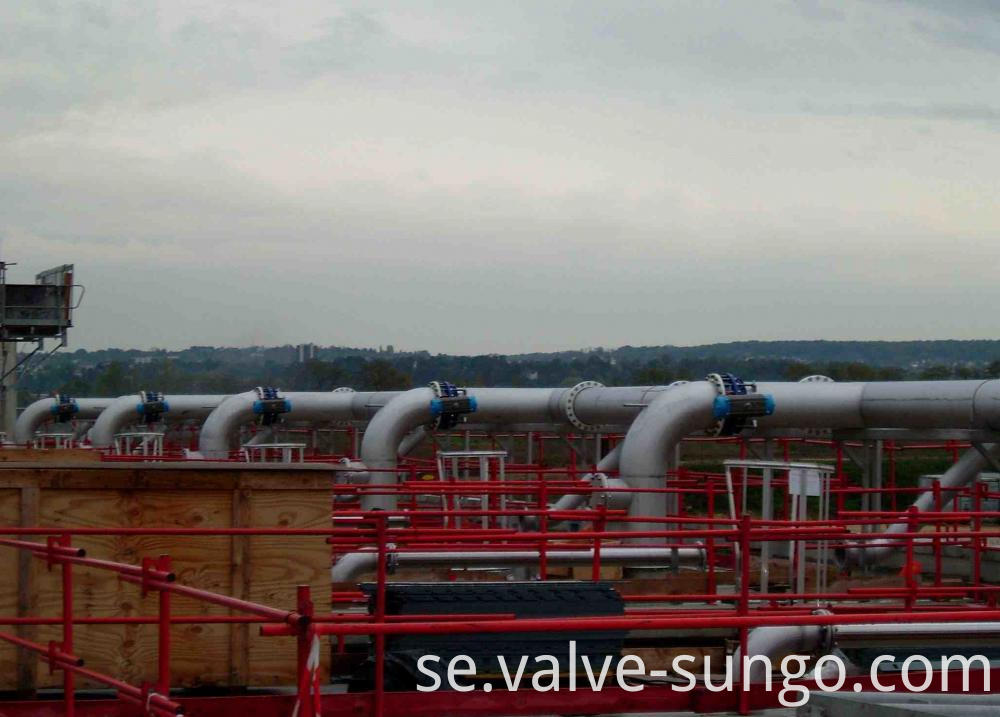 Floating Ball Valve application